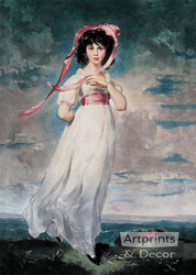 Pinkie by Thomas Lawrence - Art Print