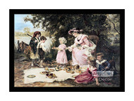 Little Lady Bountiful - Framed Art Print