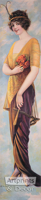 Panama Girl by Alfred Everitt Orr - Art Print
