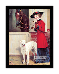 Ready to Ride - Framed Art Print