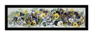 Study of Pansies - Framed Art Print