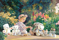 Kyla's Tea Party by Kevin Roeckl - Art Print