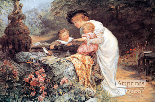 The Coming Nelson by Frederick Morgan - Art Print