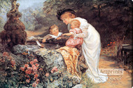 The Coming Nelson by Frederick Morgan - Stretched Canvas Art Print