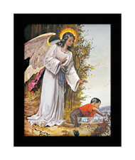 Guardian Angel V - Framed Art Print