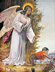 Guardian Angel V - Art Print