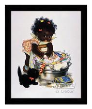 Suds 'N Duds - Vintage Ad - Framed Art Print
