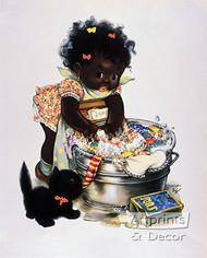 Suds 'N Duds by Charlot Byj - Vintage Ad Art Print