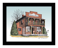 The General Store - Framed Art Print