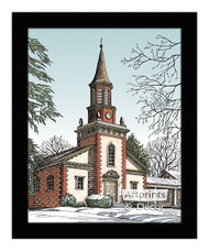Old City Church - Framed Art Print