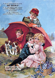 Big Double - Vintage Ad Art Print