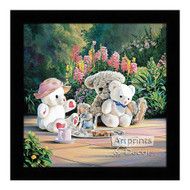 Tea Time - Framed Art Print