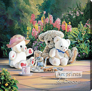Tea Time by Kevin Roeckl - Stretched Canvas Art Print
