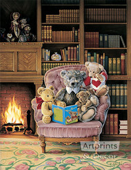 Story Time by Kevin Roeckl - Art Print