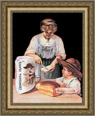 Ceresota Flour - Vintage Ad - Framed Art Print