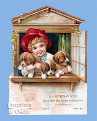 D. S. Peterman & Co. - Vintage Ad Art Print