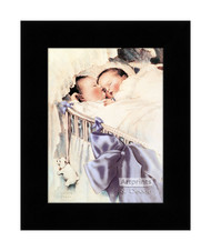 Double Blessing - Framed Art Print