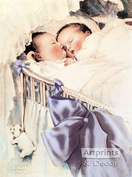Double Blessing by Bessie Pease Gutmann - Art Print