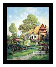 Contentment's Gateway - Framed Art Print