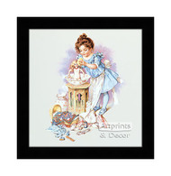 Playing Mama - Framed Art Print