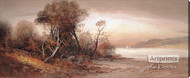 Fall at the Beach by William Henry Chandler - Stretched Canvas Art Print