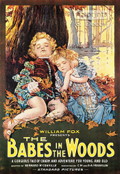 Babes in the Woods -  Vintage Movie Poster Art Print