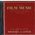 Michael J. Lewis Personalized CDs: Orchestral Film Music single CD