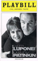 An Evening With Patti Lupone and Mandy Patinkin Playbill