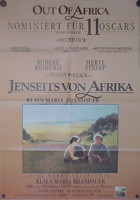 Out of Africa (Jenseits von Afrika (pre-Oscar design)