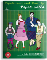 Dysfunctional Family Paper Dolls