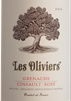Les Oliviers, Grenache/Cinsault Rosé, Pays d'Oc 2015/6