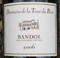 Domaine de la Tour du Bon, Bandol 2007