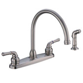 "Hybrid 8"" Kitchen Faucet U-spout"