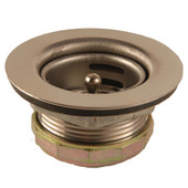"Jr. Basket Strainer 1-7/8"" - 2-1/4"" Stainless Steel"