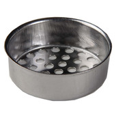 "Tub Strainer 1 3/8"" Stainless Steel Pack of 10"