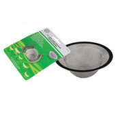 Heavy Duty Bathroom Mesh Strainer Stainless Steel
