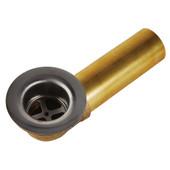 """Waste and Overflow W/ 1-1/2"""" Tub x 1-5/8 X 16"""" Thread Brass Shoe"""
