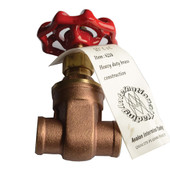 Heavy Duty Brass Gate Valve
