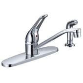 Kitchen Faucet Loop Handle Cast Spout