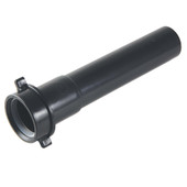 "Tubular Extension 11/2 X 6"" Black"