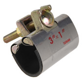 """Pipe Repair Clamp Stainless Steel Band 1/2"""" X 3"""""""