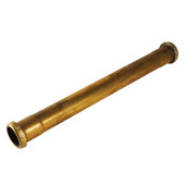 Rough Brass Slip Joint Extension Tube