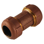 "Brass G Coupling 125PSI to 210ºF 3"" Long"