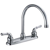 Kitchen Faucet Lever Handle U-Type Spout