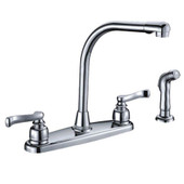 Kitchen Faucet Euro Handle L-Type Spout