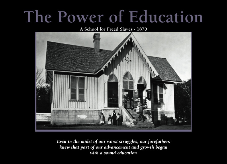 The Power Of Education A School For Freed Slaves 1870 24