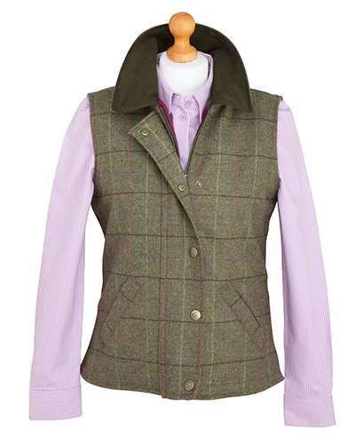 Hoggs of Fife Caledonia Tweed Waistcaot