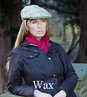 Ladies Wax Jacket