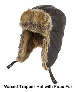 Hoggs wax trapper hat
