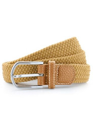 Braided Belt Camel